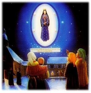 Our Lady of Pontmain | Red Zambala