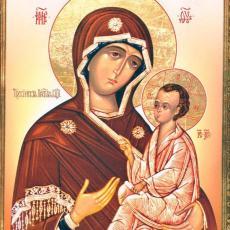 Icon of Mother of God Tikhvinskaya